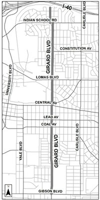 An image of Girard Mini map.