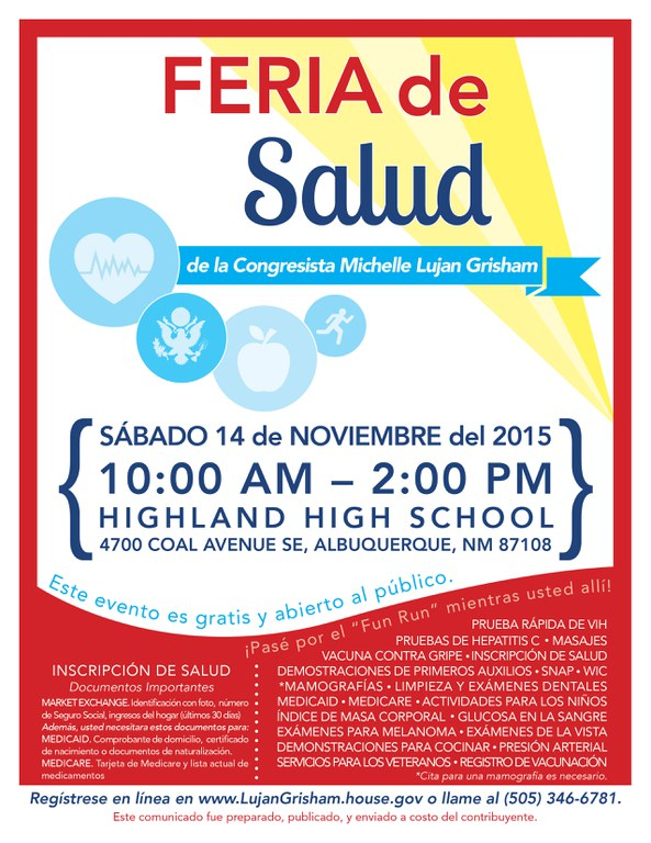 Health and Wellness 2015 Spanish