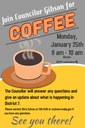 Coffee with Councilor Gibson 1.26.16