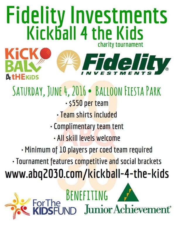 kickball 4 the kids flyer
