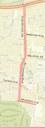 Rio Grande Boulevard Complete Streets Concept Plan Map