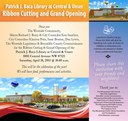 Patrick J. Baca Central and Unser Library Grand Opening Invitation