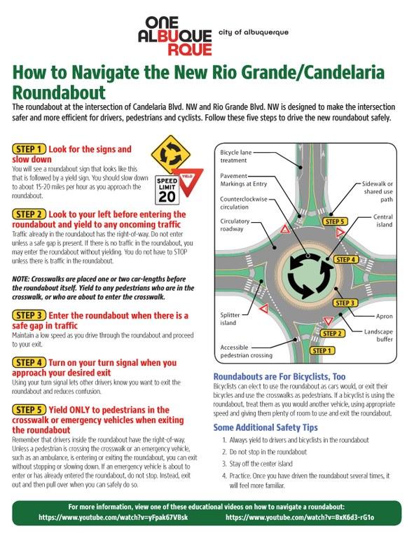 Rio Grande Candelaria Roundabout
