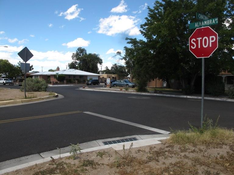 Rio Grande Boulevard and Allhambra Ave
