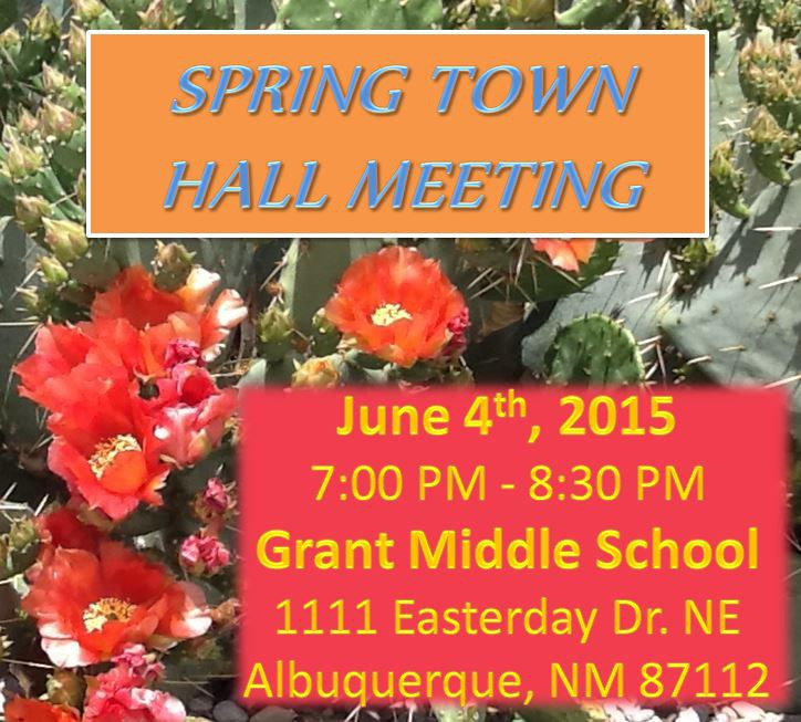 Spring Town Hall Meeting D-7