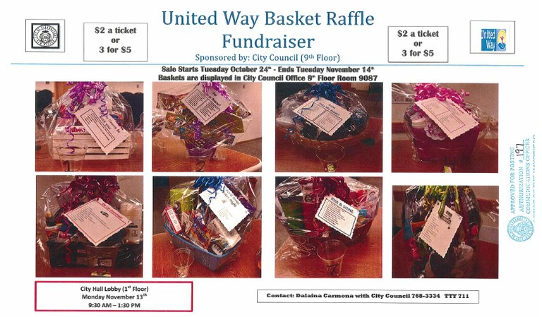 United Way Baskets Flyer 2017