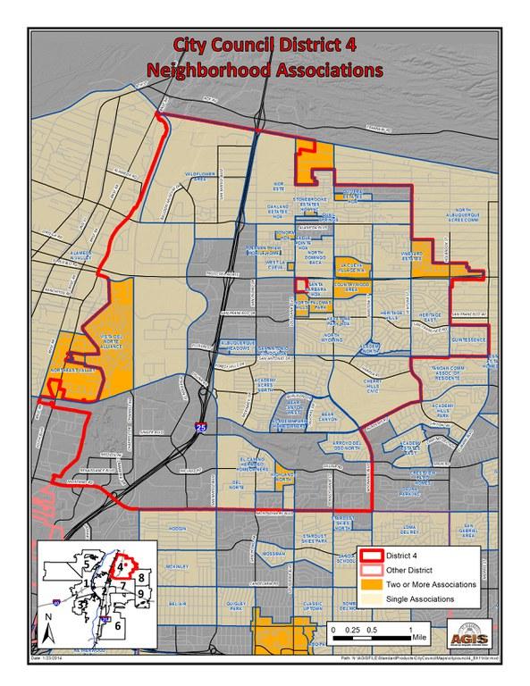 District 4 Neighborhood Associations 1/14