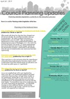 City Council Planning Newsletter