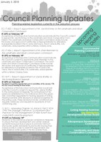 Council Planning Newsletter