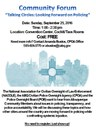 NACOLE Community Forum 09.25.16 Flyer