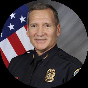 Police Chief Michael Geier Headshot Tile