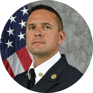 Headshot of Fire Rescue Chief Paul Dow