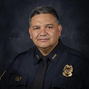 Headshot of Interim Police Chief Harold Medina