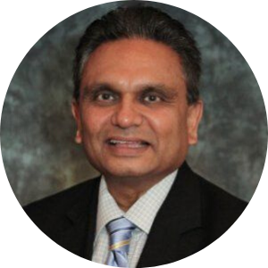 Headshot of CFO Sanjay Bhakta