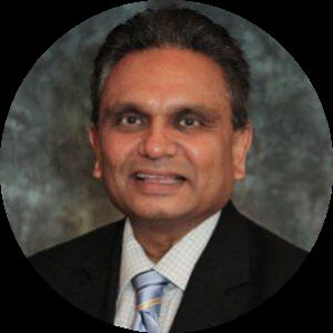 Headshot of CFO Sanjay Bhakta