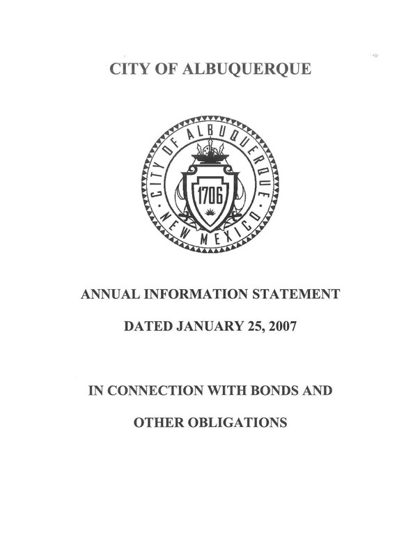 Annual Information 2007