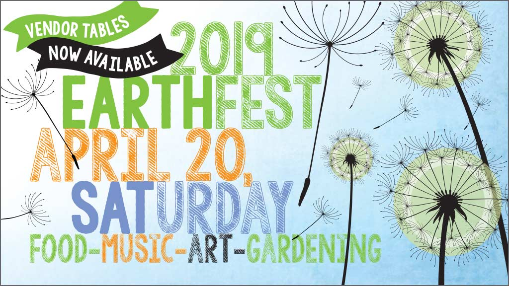 The Nob Hill Earth Day 2019 Celebration Logo.
