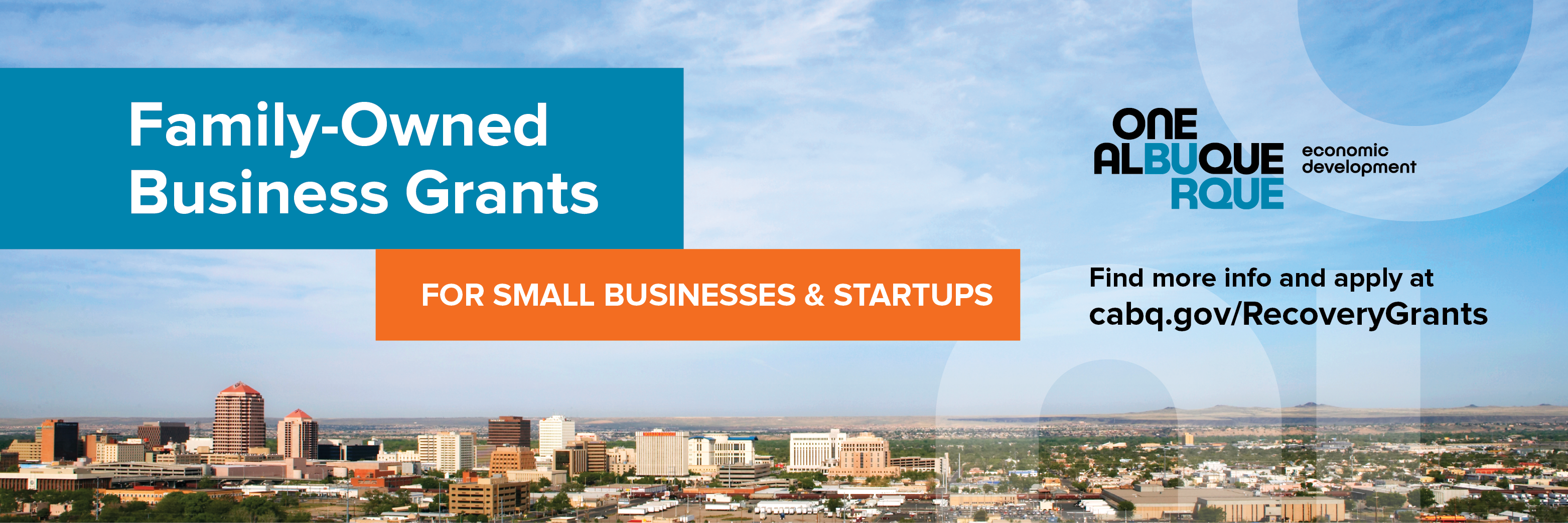 Family-Owned Business Grant Header
