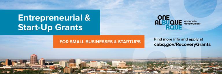 Entrepreneurial & Start-Up Grants Header