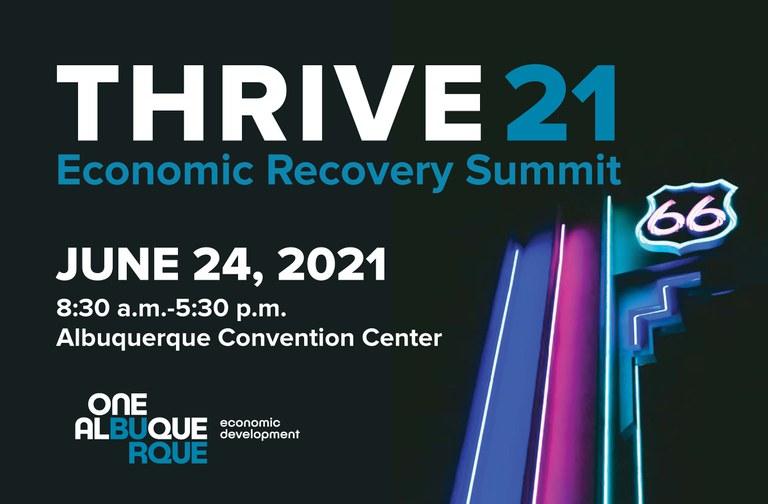THRIVE 21 Economic Recovery Summit