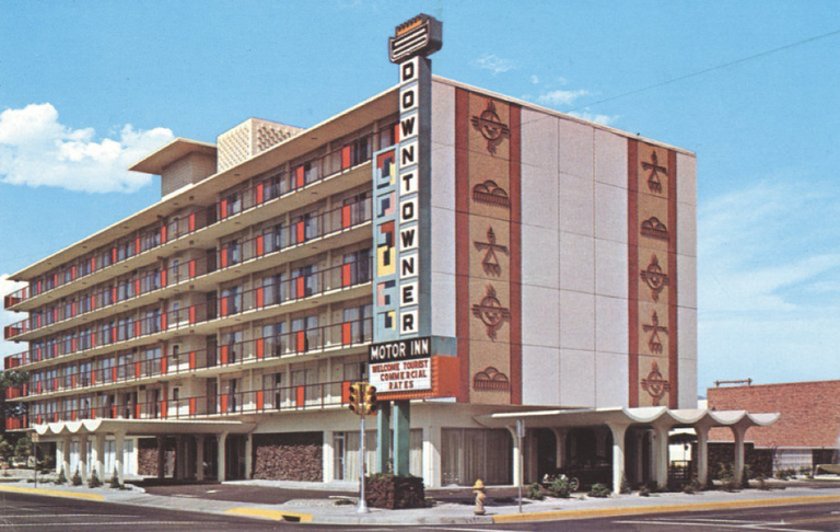 a photo of historic Downtowner Motor Inn