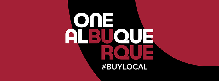 One ABQ Buy Local Banner
