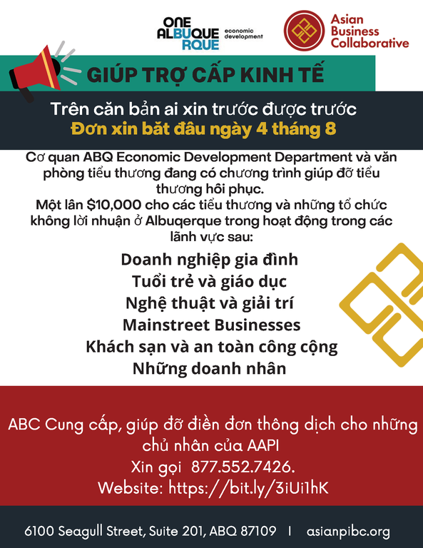 SBERG Vietnamese Flyer
