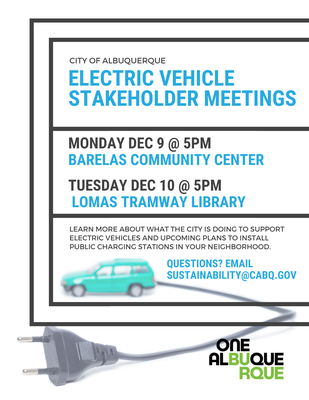 Electric Vehicle Stakeholder Meetings