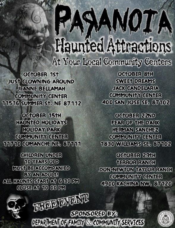 Haunted House Flyer