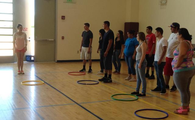 Staff learning activities for the Community Center Summer Program.