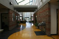 Cesar Chavez Community Center Hallway