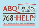 ABQ Homeless Assistance Line Small Block