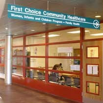 Alamosa First Choice WIC entrance