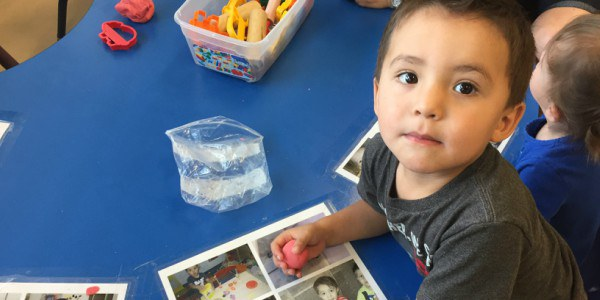A child at an Early Education Center
