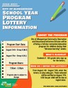 FCS School Year Lottery Flyer: Aug 2020
