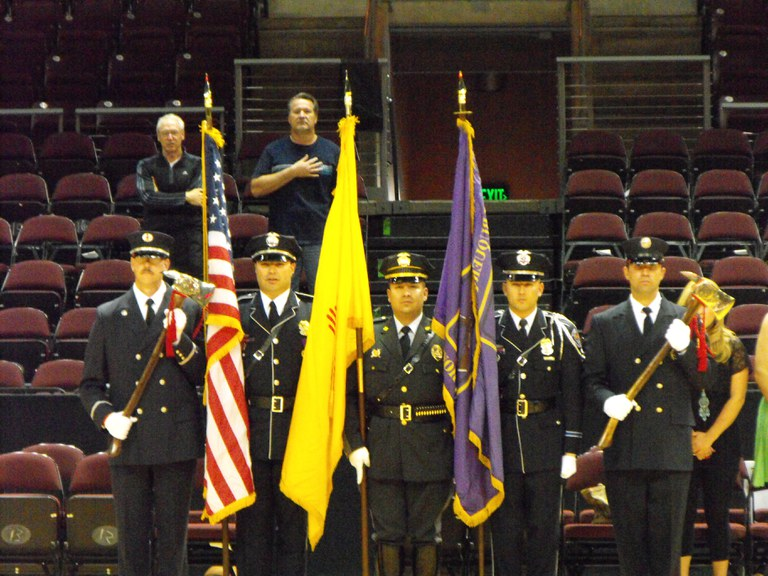 2011 Public Safety BB Tournament AFD/APD/NMSP Color Guard