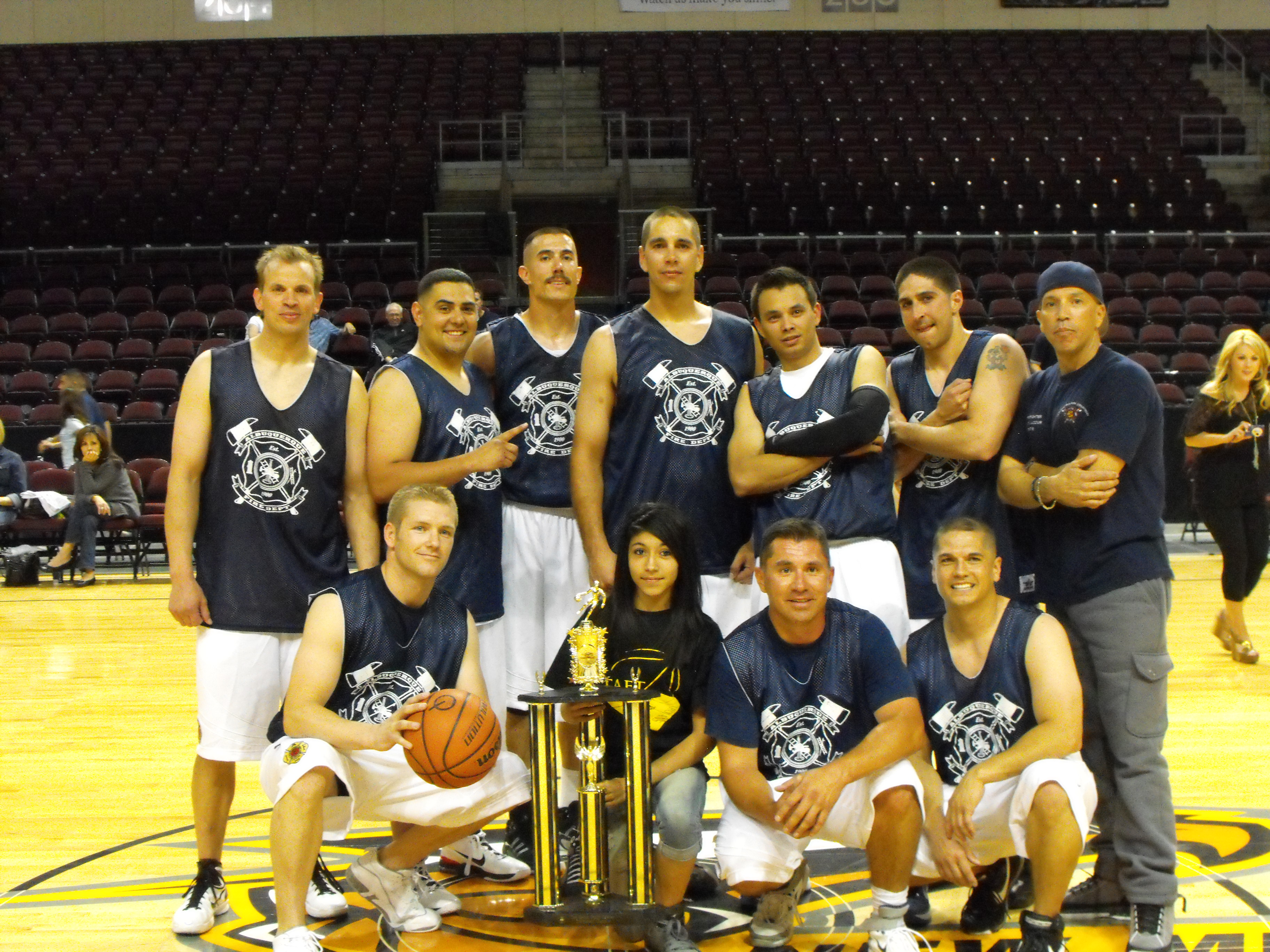 2011 Public Safety BB Tournament Winners