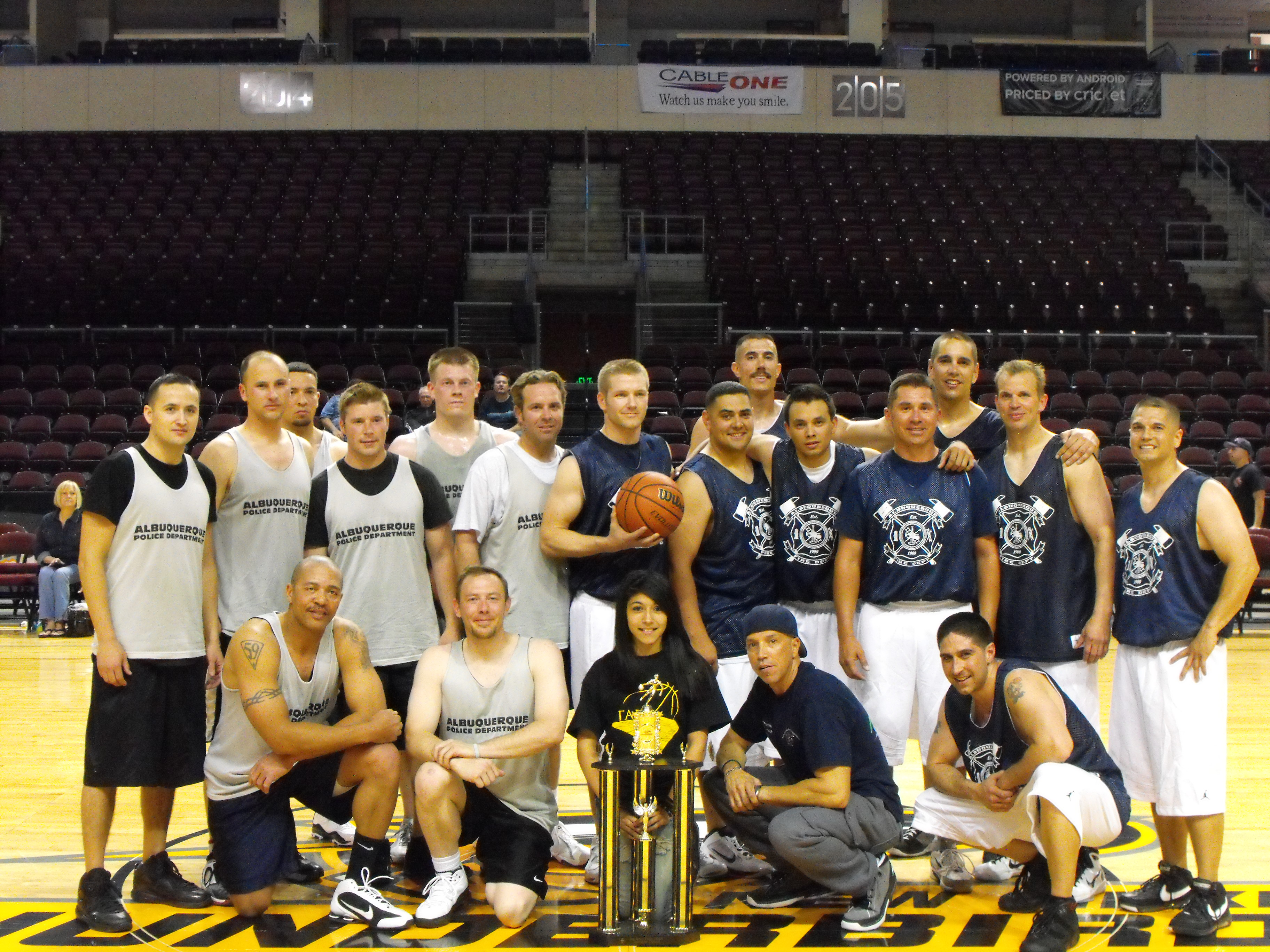 2011 Public Safety BB Tournament AFD vs APD