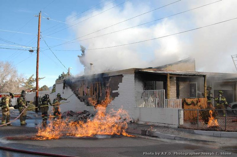 AFD Trinity Fire