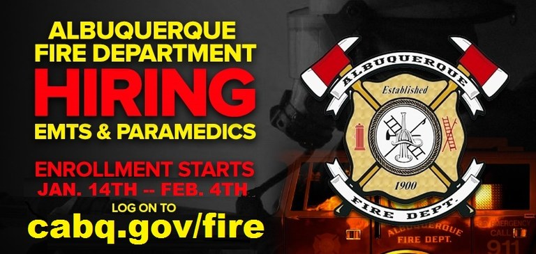 ABQ Fire Department 2018 Academy Enrollment