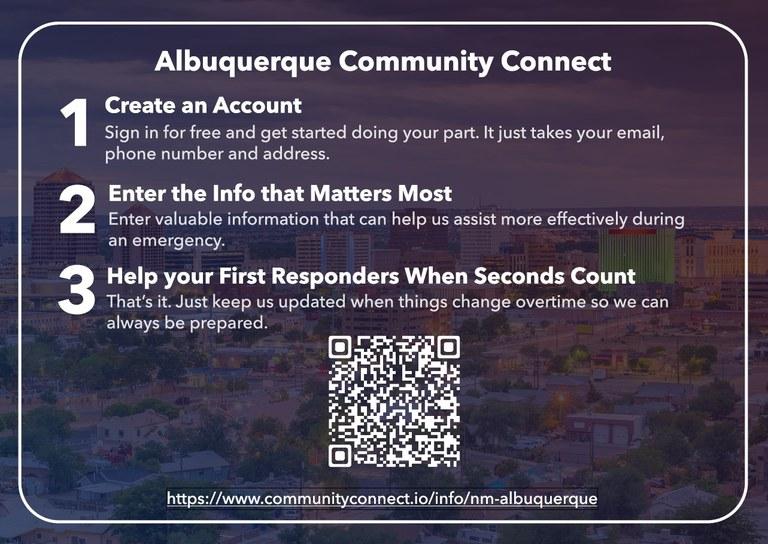 Albuquerque Fire Department Community Connect Slide 2