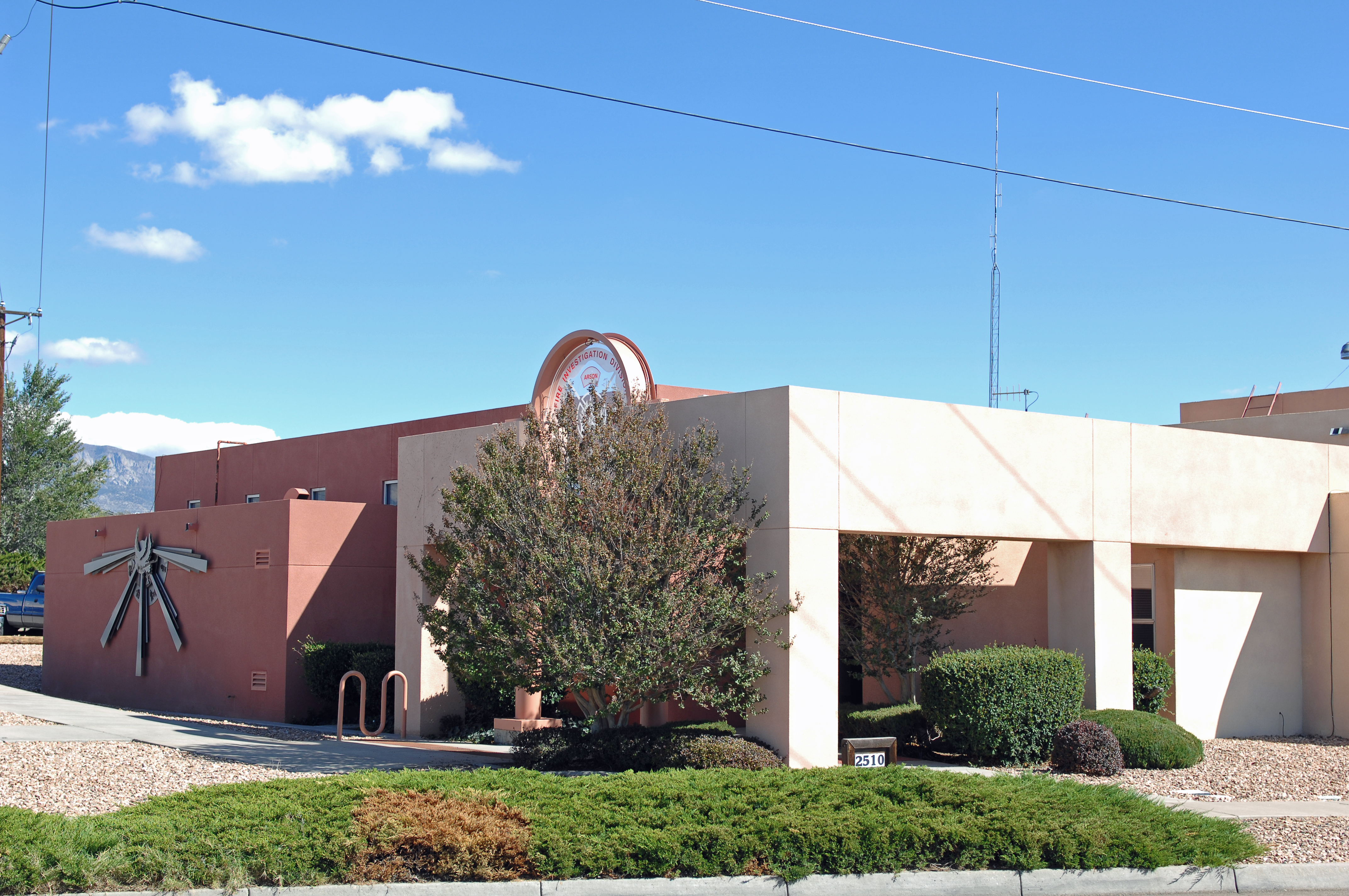 Fire Investigation Building