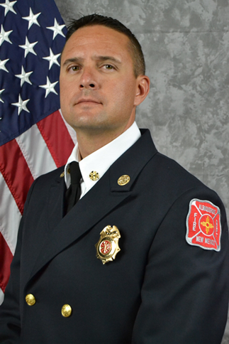 caption: Fire Chief Paul Dow
