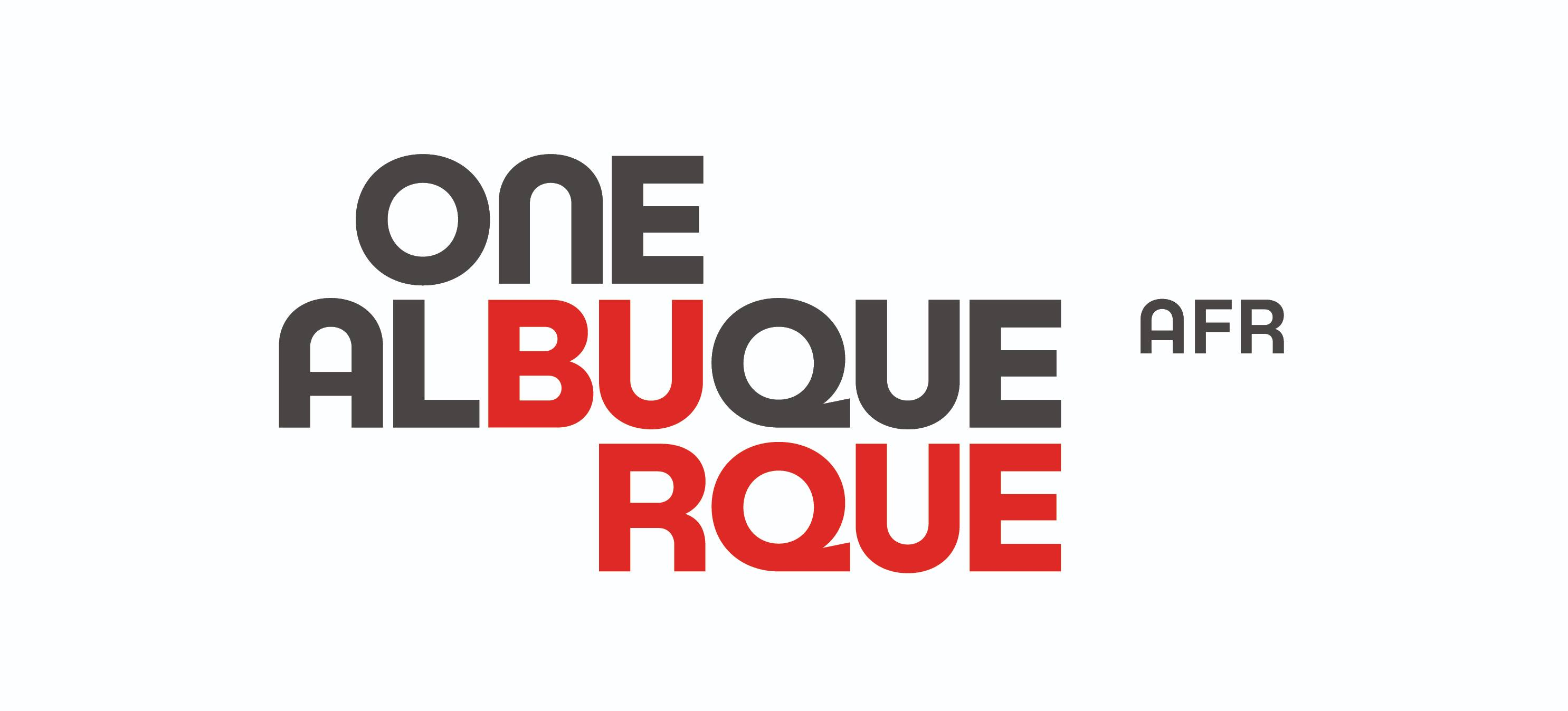 The One ABQ AFR Horizontal Logo