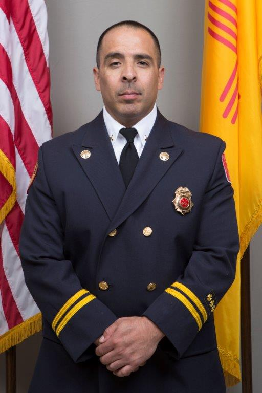 Fire Assistant Chief Sean Elks