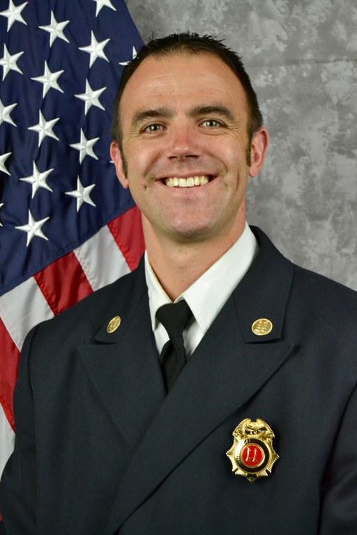 Deputy Chief Nathaniel Meisner- Planning & Logistics Headshot