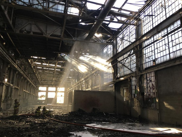 Rail Yard Fire 2018