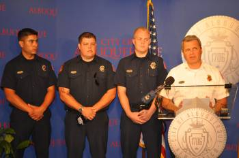 Albuquerque Fire Station 3 firefighter