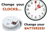 Change Your Clocks and Your Batteries