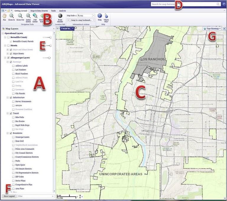 Geocortex Help Startup Screen